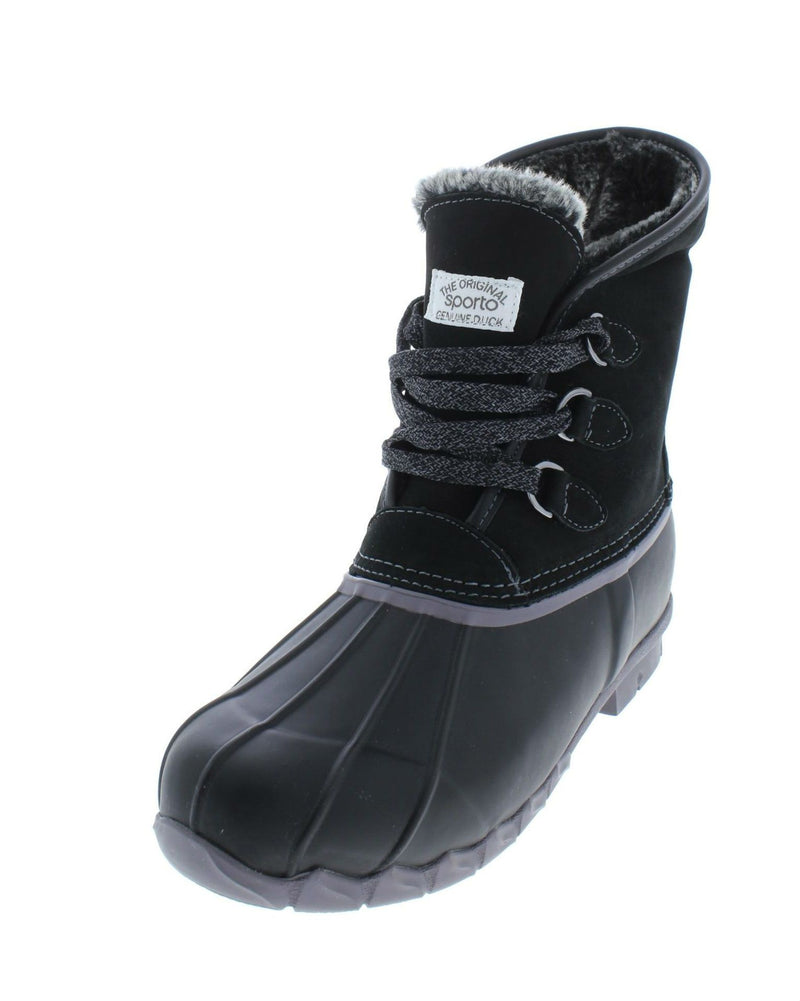 Sporto® Defrost Waterproof Laced Duck Boot