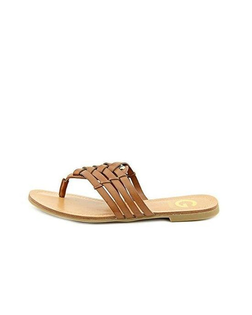 Guess Brown Loann Thong Sandals