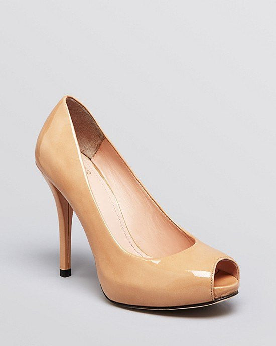 Stuart Weitzman Peep Toe Platform Pumps - Baton High Heel - Fashionbarn shop - 3