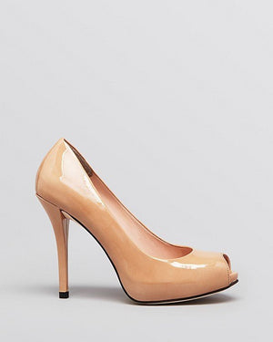 Stuart Weitzman Peep Toe Platform Pumps - Baton High Heel - Fashionbarn shop - 2