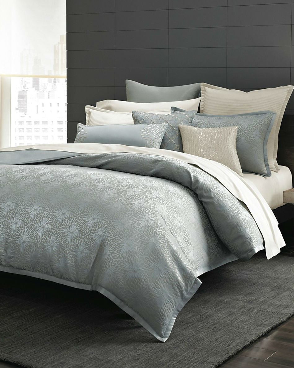Hudson Park Collection Luxe Zinnia Comforter cover-HUDSON PARK-Fashionbarn shop