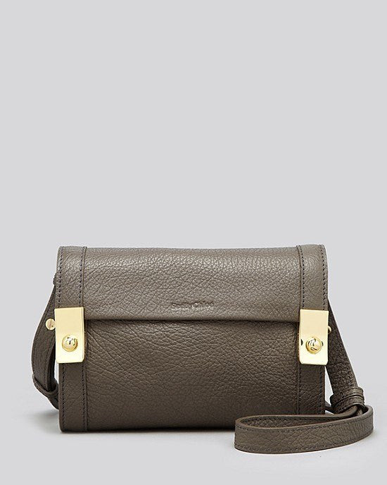 SEE BY CHLOÉ Jill Small Smooth Leather Crossbody Bag-SEE BY CHLOE-Fashionbarn shop