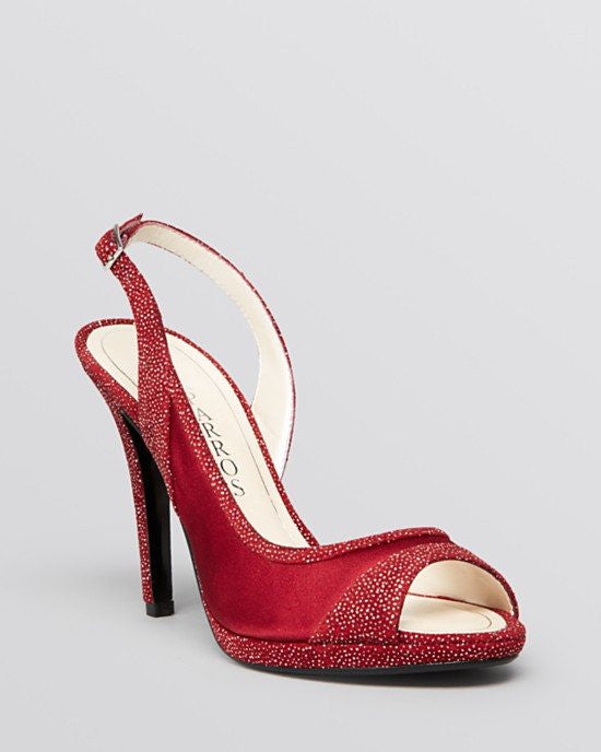 CAPARROS Peep Toe Platform Evening Pumps - Olympia High Heel-CAPARROS-Fashionbarn shop