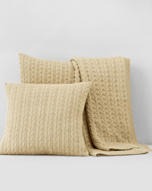 "1872 26""x26"" Cable Knit Euro Pillowsham - Bloomingdale's Exclusive-1872-Fashionbarn shop"