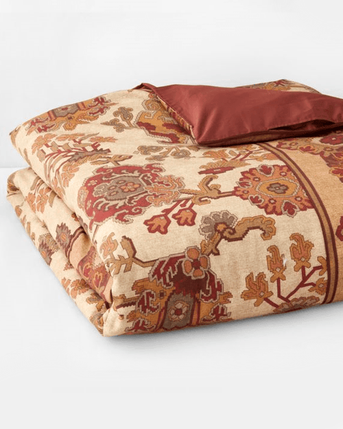 1872 Bukhara Queen Comforter Cover, Cotton - Bloomingdale's Exclusive - Fashionbarn shop