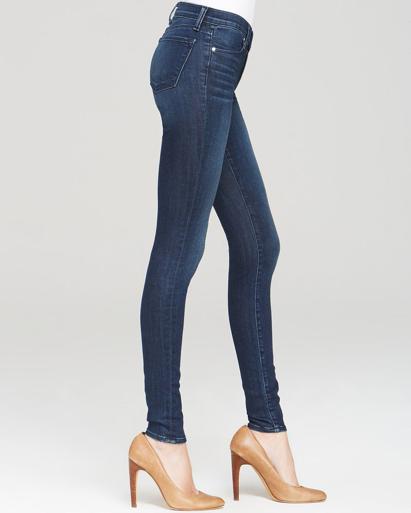 J Brand  Mid Rise Super Skinny Jeans in Fix