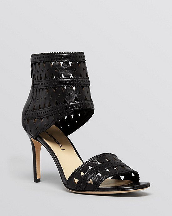 VIA SPIGA Open Toe Ankle Strap Platform Sandals - Vanka High Heel-VIA SPIGA-Fashionbarn shop