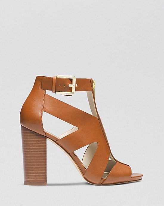 9793dafbe184 MICHAEL Michael Kors Open Toe Sandals - Anya High Heel-MICHAEL MICHAEL KORS- Fashionbarn
