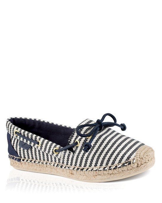 SPERRY Lace Up Espadrille Flats - Katama Marinier-SPERRY-Fashionbarn shop