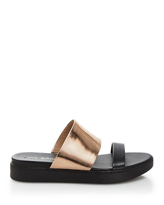 9594a99af VIA SPIGA Carita Flat Slide Sandals-VIA SPIGA-Fashionbarn shop