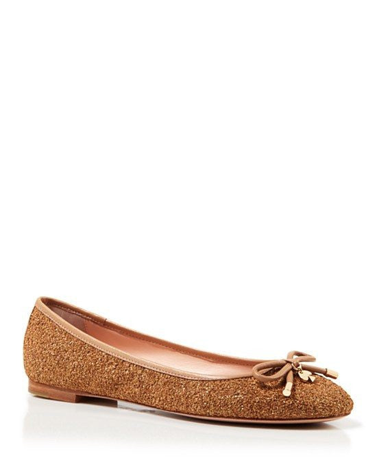 KATE SPADE new york Glitter Cork Ballet Flats - Willa-KATE SPADE-Fashionbarn shop
