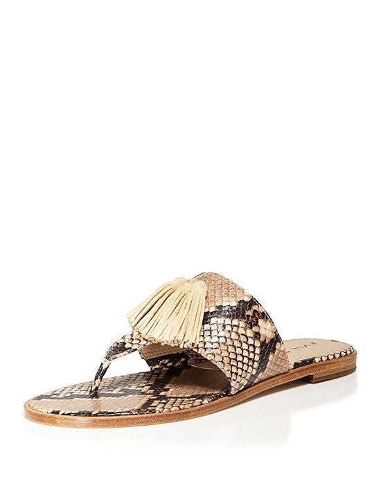 VIA SPIGA Flat Thong Sandals - Terrin Tassel-VIA SPIGA-Fashionbarn shop