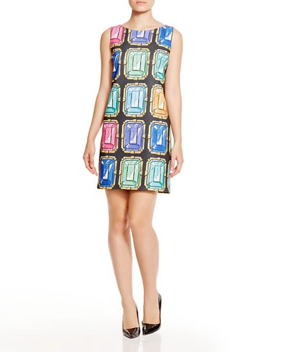 Boutique Moschino Jewel Print Dress