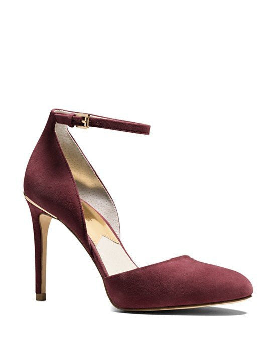 Michael Michael Kors Georgia Ankle Strap High Heel Pumps - Fashionbarn shop - 1