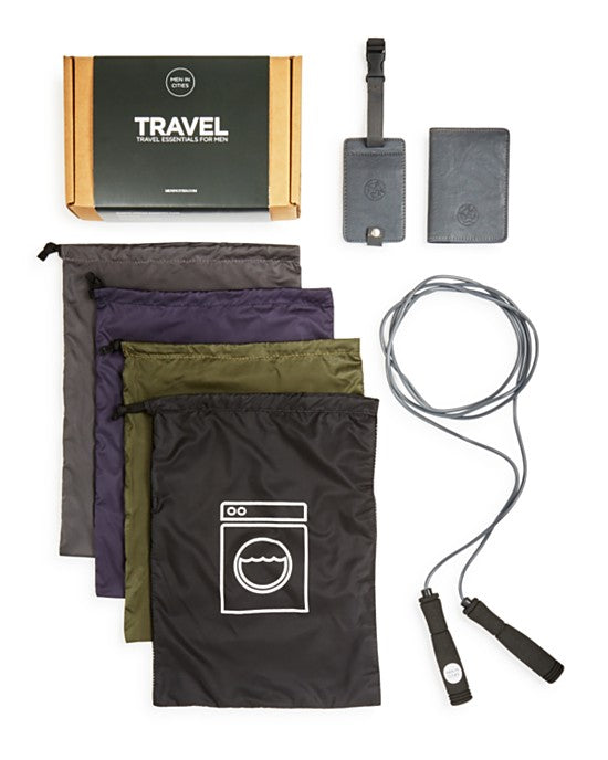 Men in Cities Travel Essentials Kit
