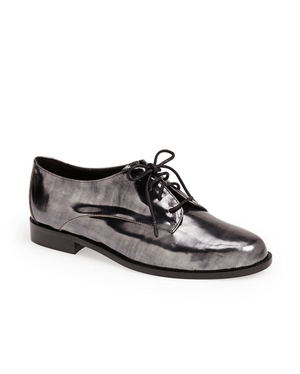 DIANE V FURSTENBG 'Ziggy' Specchio Leather Oxford-DIANE VON FURSTENBERG-Fashionbarn shop