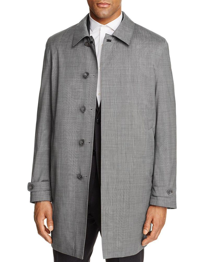 Canali Men's Reversible Classic Fit Short coats