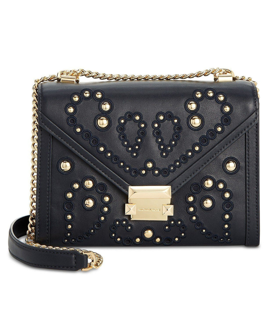 MICHAEL Michael Kors Whitney Studded Shoulder Bag