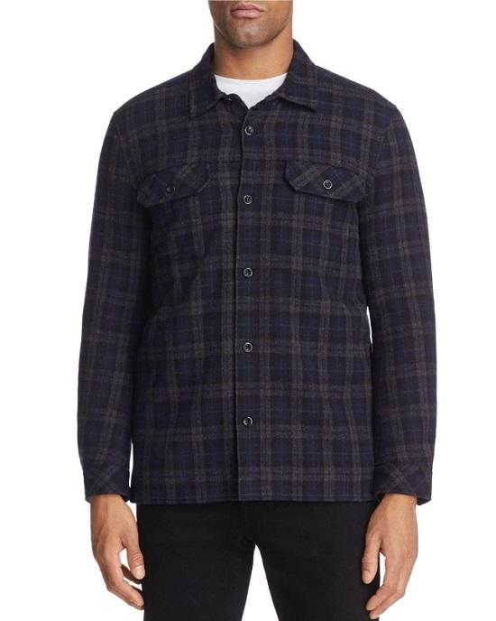 Velvet by Graham & Spencer Bowman Long Sleeve Shirt Jacket
