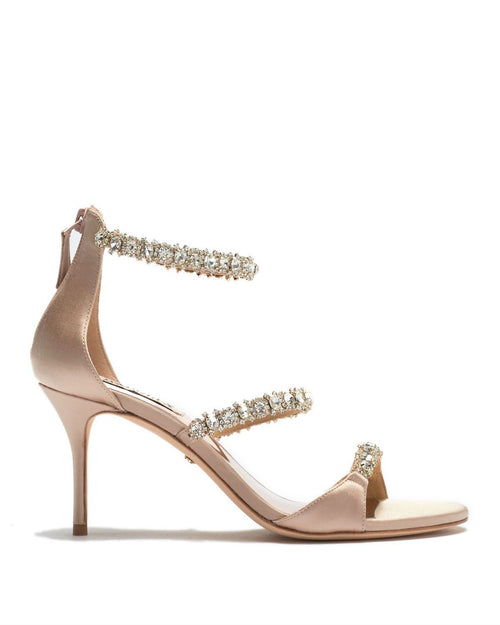 Badgley Mischka Yasmine Crystal Embellished Sandal