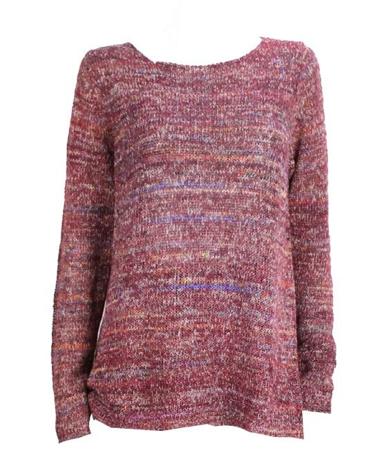 Studio M Multicolor Tweed Sweater