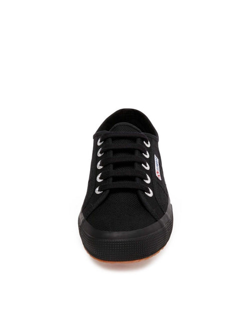 SUPERGA Flat Lace Up Sneakers - 2750 Cotu Classic Full Black