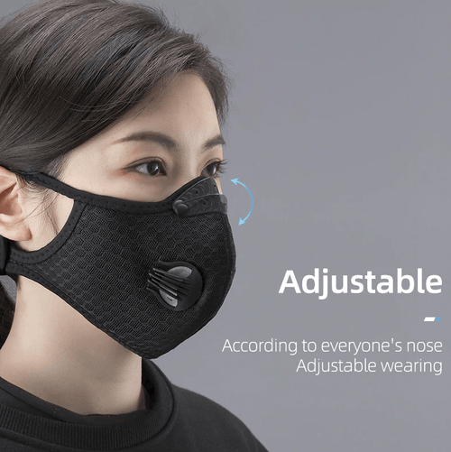 Rockbros KN95 Dust Pollution Respirator Outdoor Mask And Filter