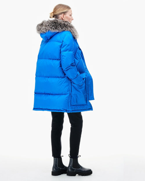 Army By Yves Salomon Doudoune Down Jacket, Blue