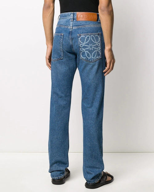 Loewe Men's Basic Denim Jeans