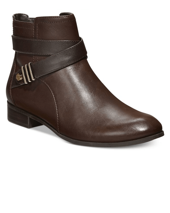 Anne Klein Women's Brown Kael Booties