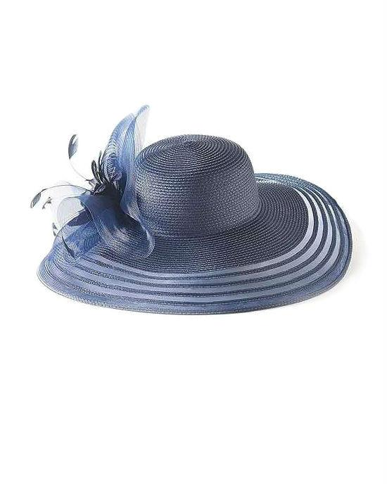 August Hats Camellia Wide Brim Hat