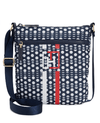 Tommy Hilfiger Nylon Slim Training Crossbody Navywhite - Fashionbarn shop - 1