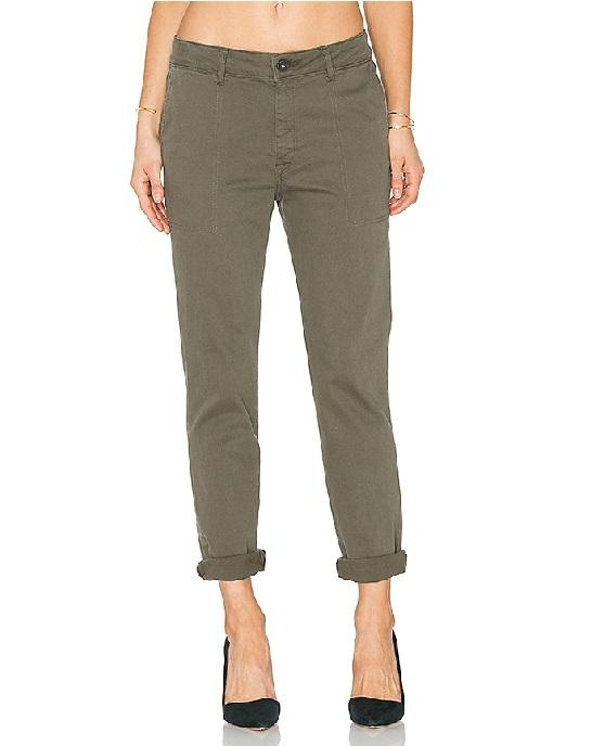 DL1961 JESSICA NO.6 SLOUCHY SKINNY IN CLOVER