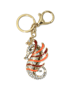 Steffe Crystal Rhinestone Hippo-campus Bag Charm Great For Gift-STEFFE-Fashionbarn shop