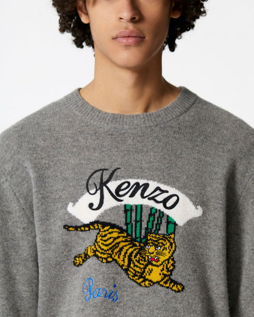 Kenzo Men's 'Jumping Tiger' Jumper Sweater