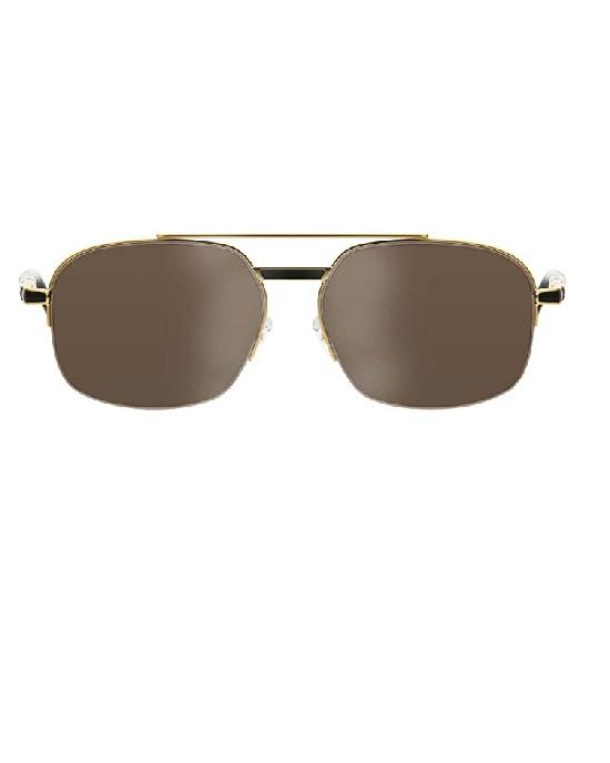 MONT BLANC MEN'S 522T 30J SUNGLASSES