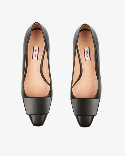 Bally Claudie Leather 45 Pumps In Black