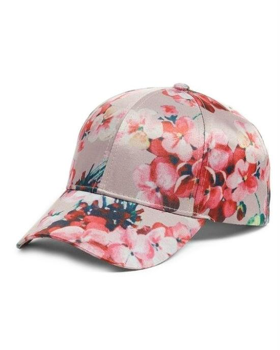 Collection Xiix Floral Baseball Hat