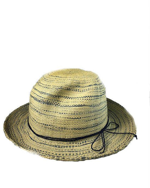 AUGUST HAT BLUE RUSH FEDORA