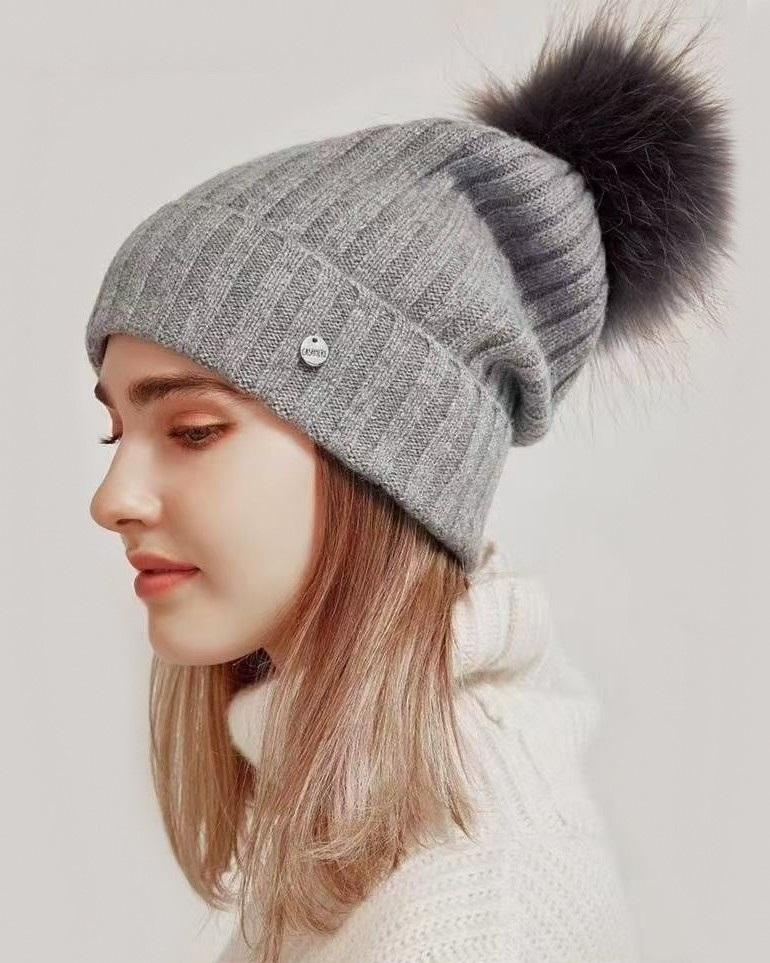 Weekend by Maxmara Women's Ribbed Knit Hat