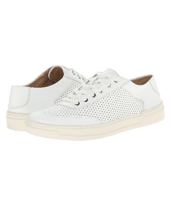Via Spiga 'Gitana' Perforated Leather Sneaker - Fashionbarn shop