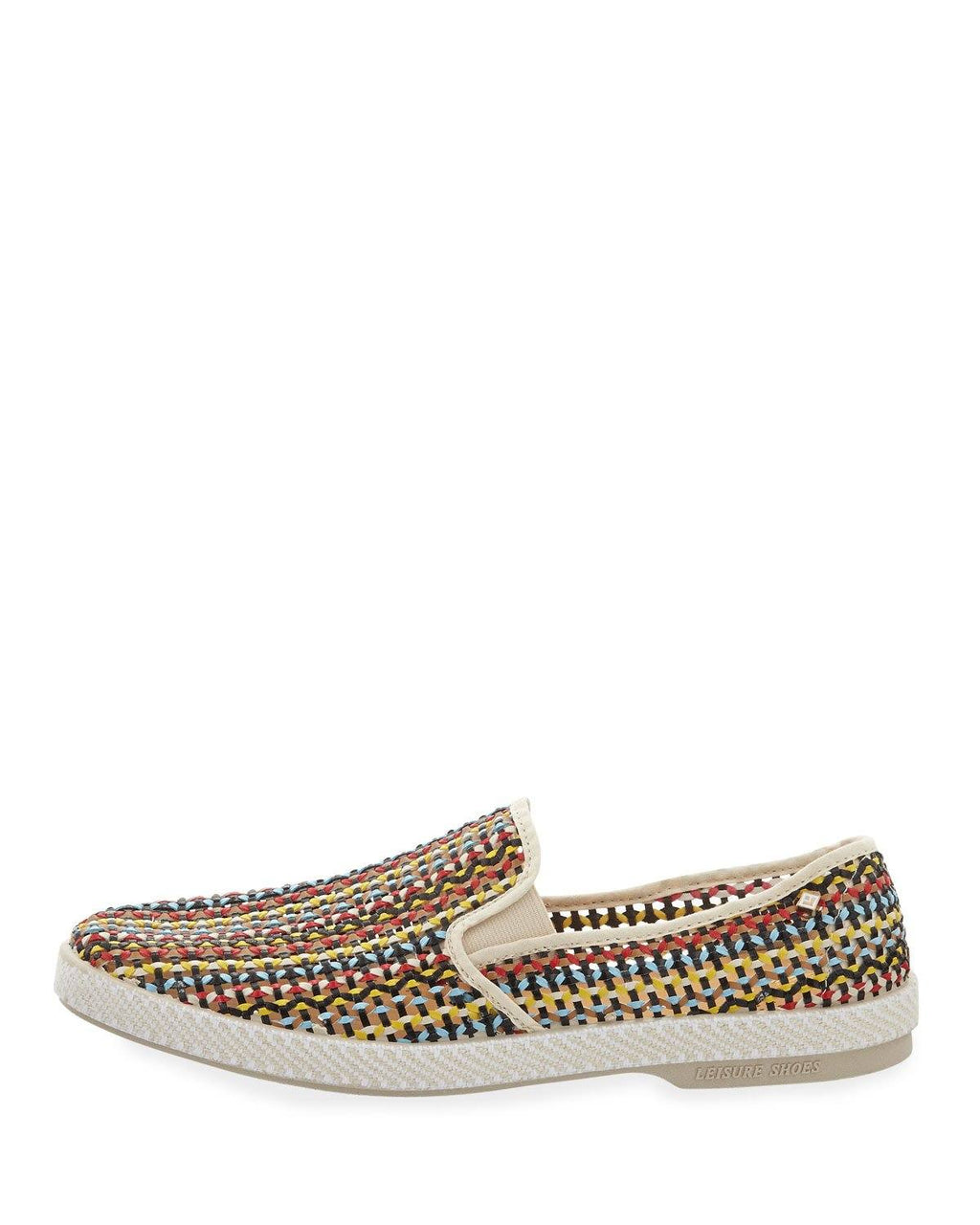 Rivieras Lord Zelco Woven Leather Slip-On