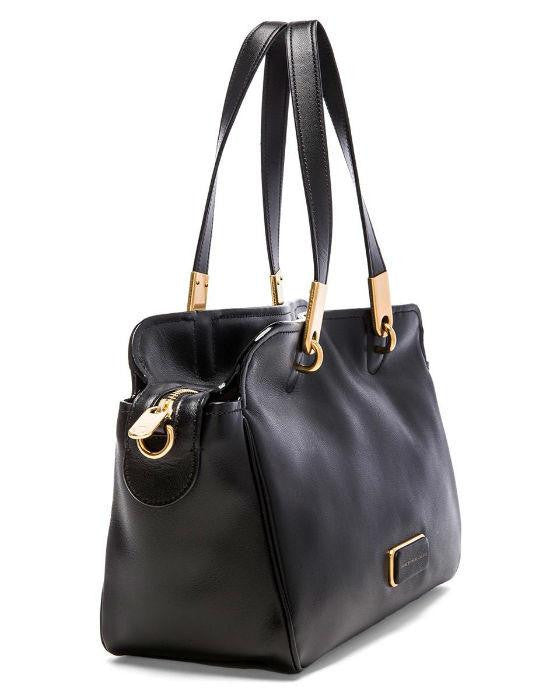 Marc by Marc Jacobs Smooth Leather Ligero Satchel - Fashionbarn shop - 2