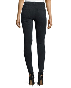 DL1961 Premium Denim No. 1 Super Skinny Ultra High-Rise Ankle Jeans, Battle