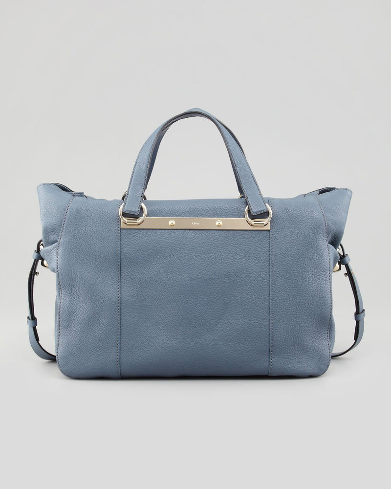 Chloe Bridget Medium Shoulder Bag, Blue