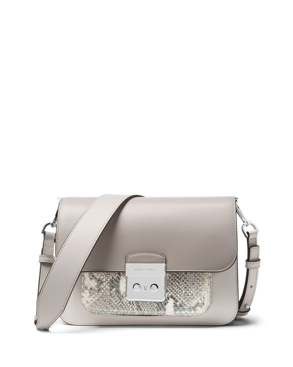 MICHAEL Michael Kors Sloan Editor Large Shoulder Bag - Silver Hardware