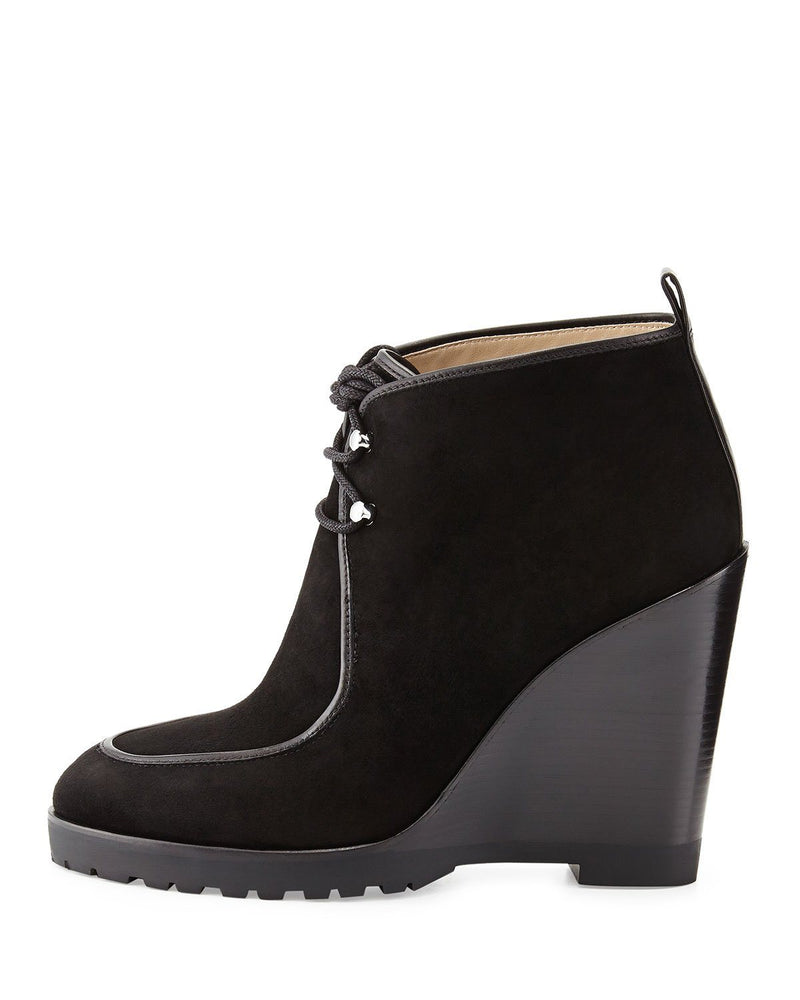 Michael Michael Kors Beth Wedge Lace-Up Ankle Booties