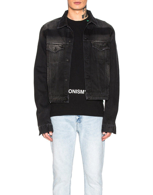 Off- White Exaggerated Denim Jacket