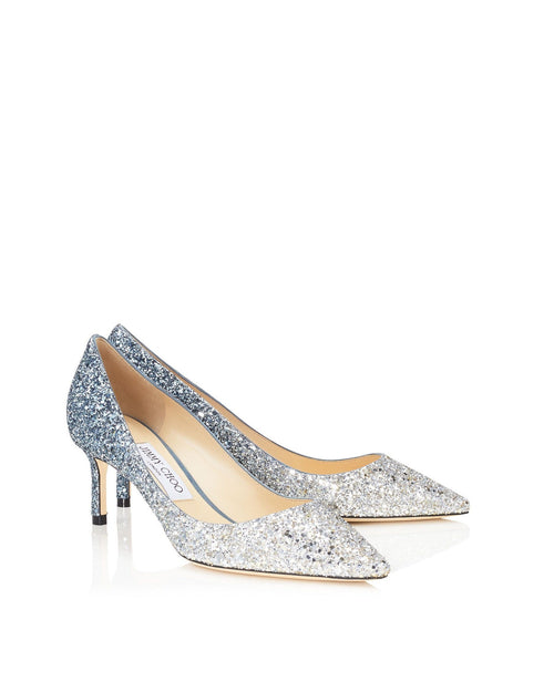 Jimmy Choo ROMY 60 Glitter Dégradé Pointed Pumps