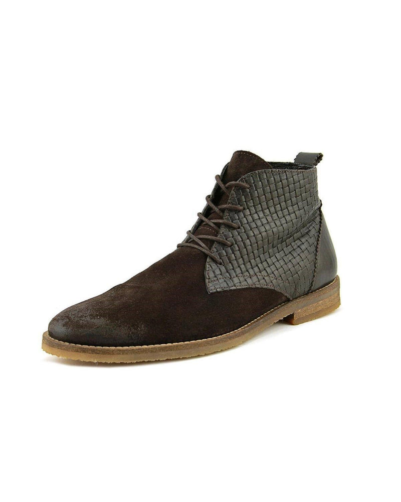 Rogue Drakon Men Round Toe Suede Chukka Boot